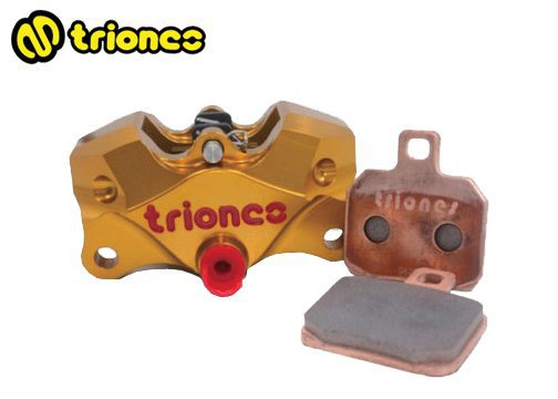 Triones Semi-Sintered HH Metallic Brake Pad for 2 Pot Caliper