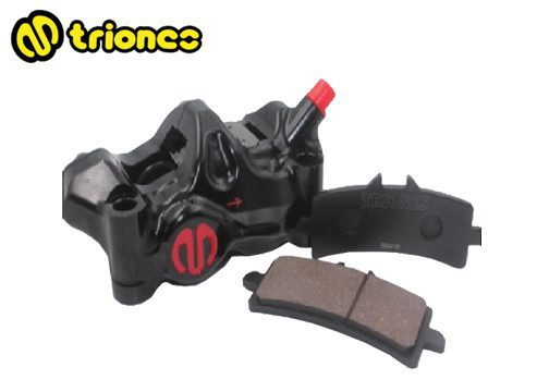 Triones 3D Semi-Sintered Metallic Brake Pad for Radial Caliper